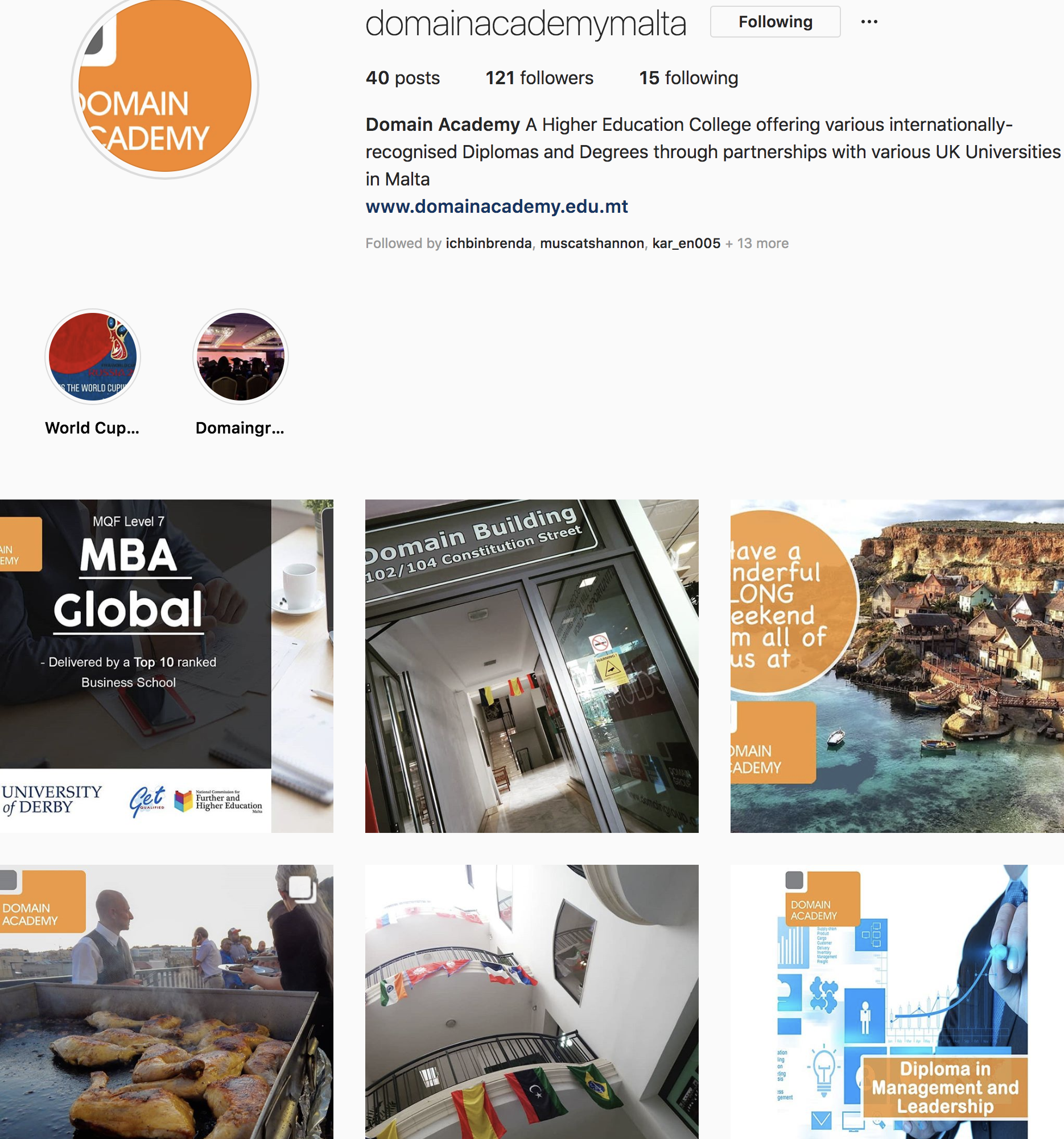 100 Instagram followers reached!!! - Domain Academy